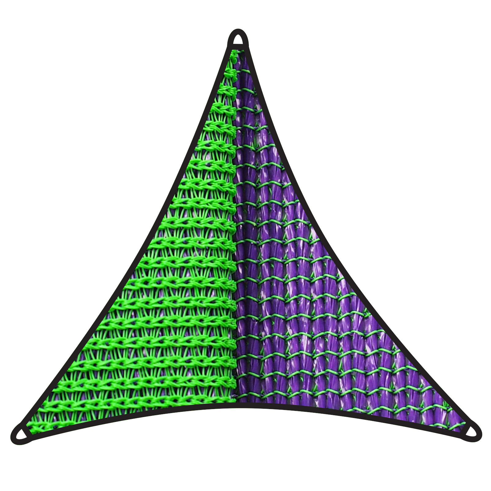 Coolaroo 5m 350gsm Chameleon Triangle Dual Shade Sail
