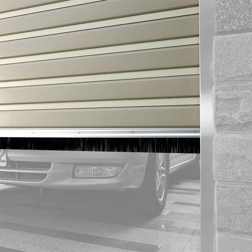 Moroday 50mm x 2.55m Garage Brush Door Seal