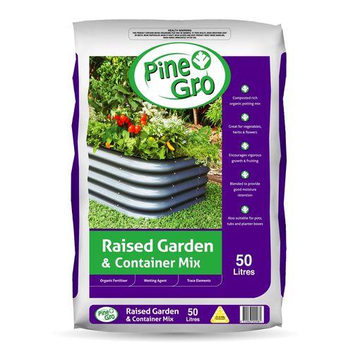 Pinegro 50L Raised Garden Container Mix
