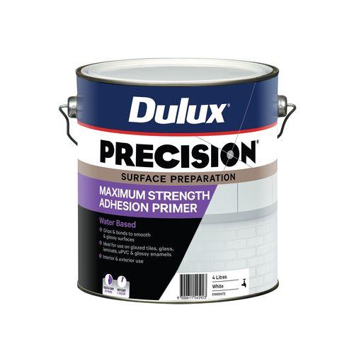 Dulux 4L PRECISION Maximum Strength Adhesion Primer White