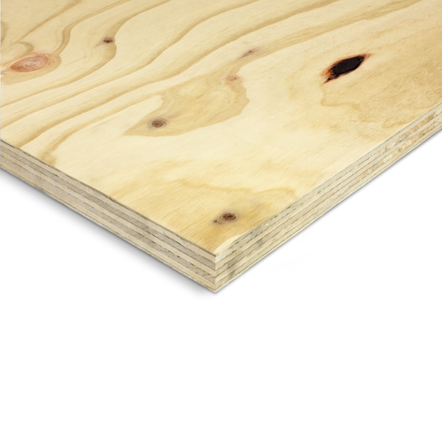 IBuilt 25 x 1200 x 2400mm DD Structural Untreated Plywood