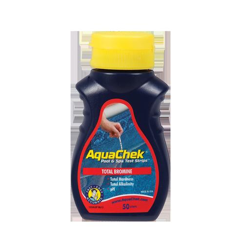 AquaChek Total Bromine Spa Test Strips - 50 Pack