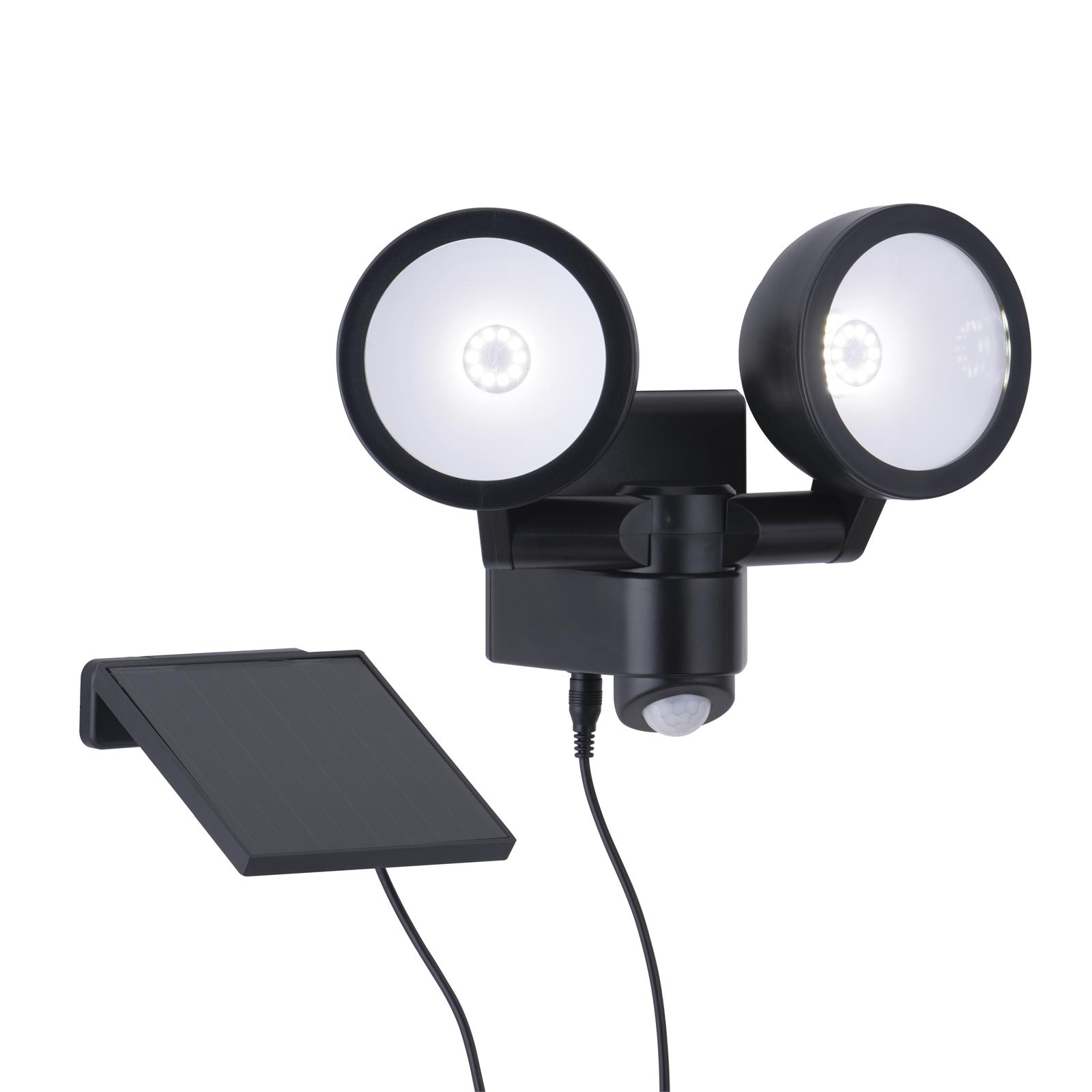 Arlec 330 Lumens LED Movement Activated Sensor Security Solar Light