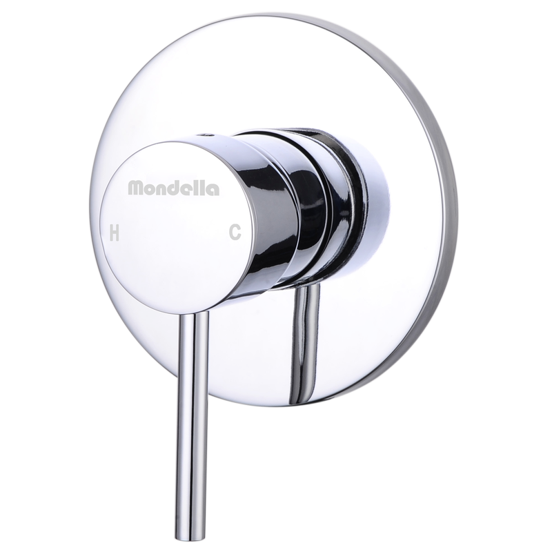 Resonance 40mm Chrome Pin Lever Shower Mixer