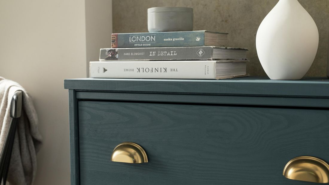 DIY Advice Image - How to paint and upcycle your old chest of drawers. G Drive blob storage upload.
