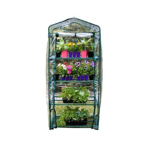 Naturallife 69 x 49 x 160cm 4 Tier Premium Greenhouse