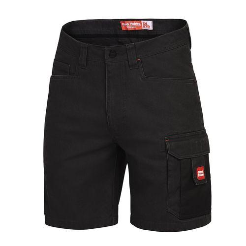 Hard Yakka Cargo Shorts - 77R Black