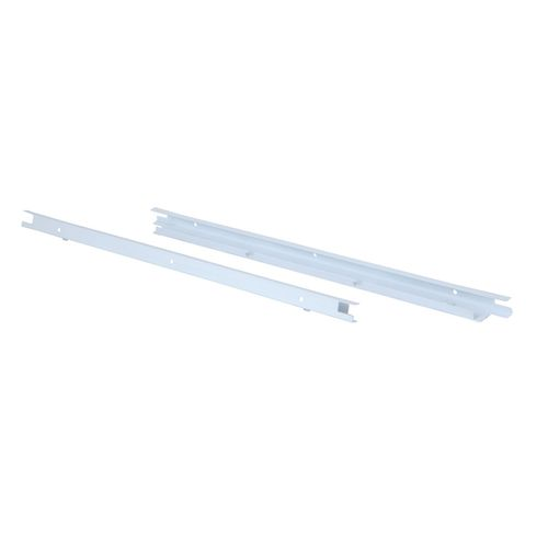 Flexi Storage White Wire Tower Shelf Connectors - 2 Pack