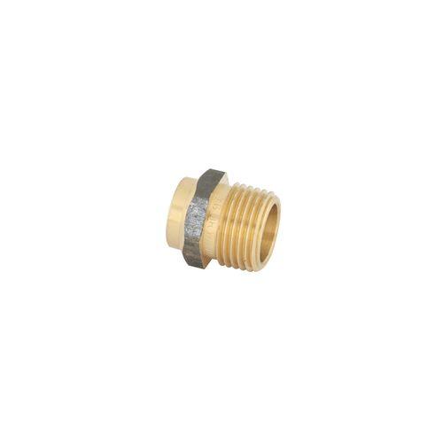 Kinetic 15CX x 15MI Male Connector Brass Capillary