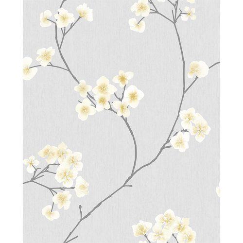 Superfresco Easy 1/2m Grey / Ochre Radiance Wallpaper Sample