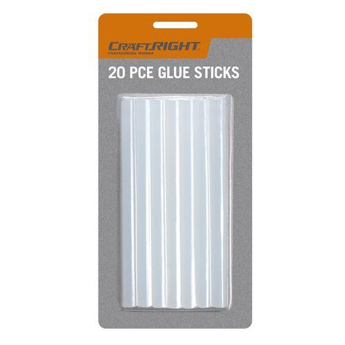 Craftright 7.2 x 100mm Glue Stick - 20 Pack