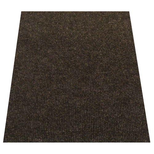 Ideal DIY 67cm Charcoal Oxford Ribbed Carpet Runner - Linear Metre