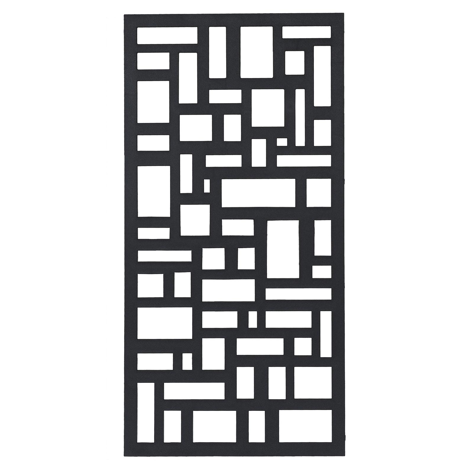 Matrix 1155 x 575mm Charcoal Cobblestones Wall Art