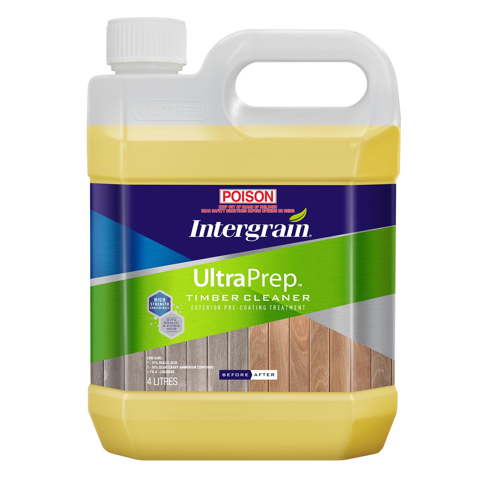 Intergrain 4L UltraPrep Timber Cleaner