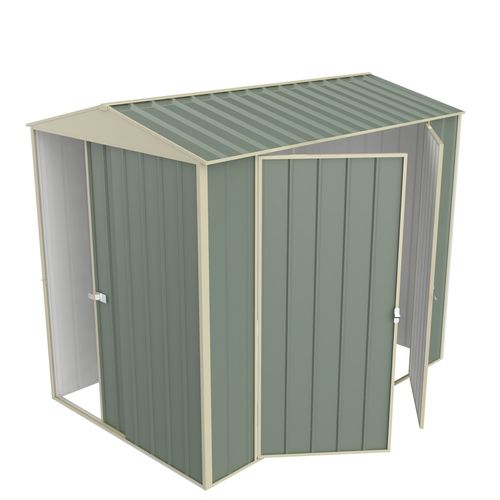 Build-a-Shed 1.5 x 2.3 x 2.3m Gable Double Hinged Side Door Shed - Green