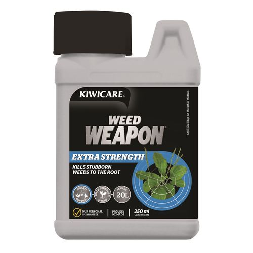Kiwicare Weed Weapon Concentrate  250ml Extra Strength
