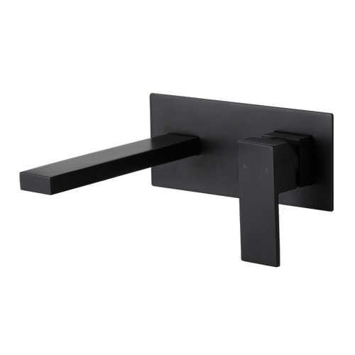MIXX WELS 4 Star 7.5L/min Matte Black Thyme Plate Mixer