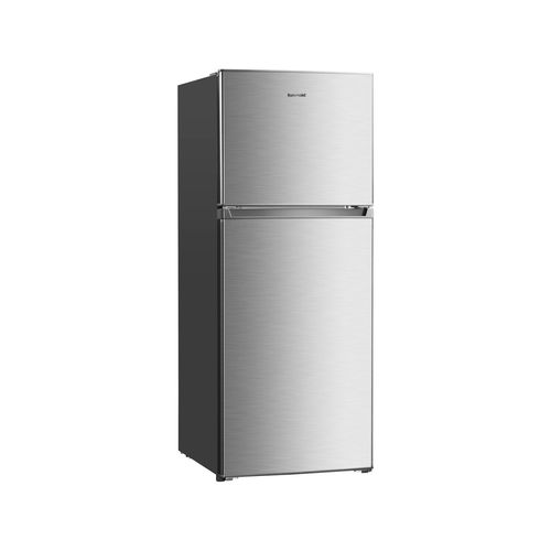 Euromaid - 362ltr Top Mount Fridge stainless Steel