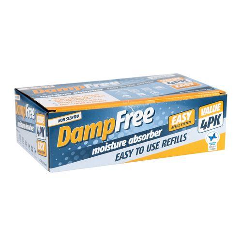 DampFree 1.19kg Moisture Absorber Refill - 4 Pack