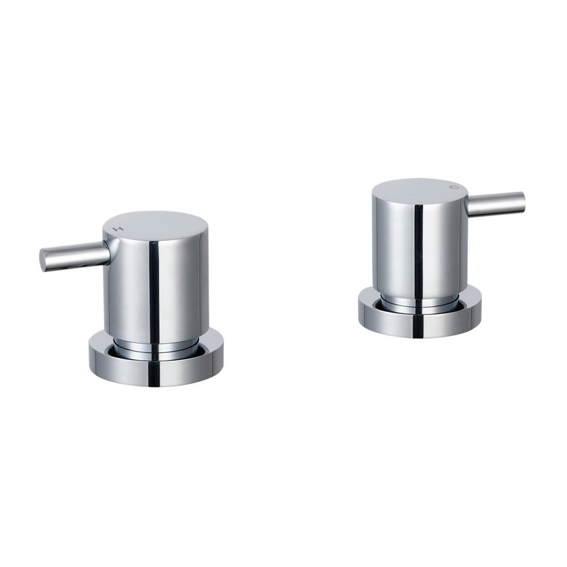 Resonance Chrome Pin Lever Basin Top Assembly