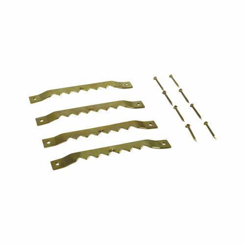 Everhang Brass Plated Frame Hangers - 4 Pack