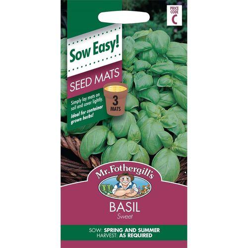 Mr Fothergill's Basil Seed Mat