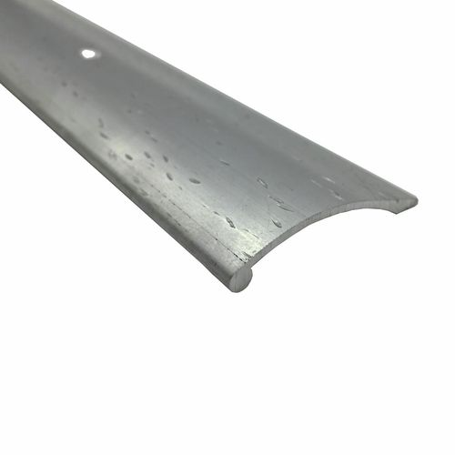 Roberts 3.3m Pewter Hammered Cover Strip Trim
