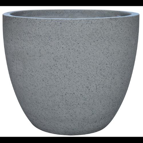 Northcote Pottery 25cm Grey Small Terrazzo Egg