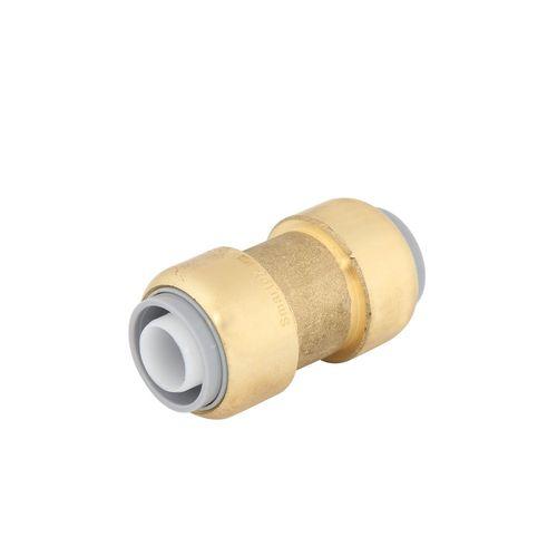 SmarteX 20mm Push Fit Brass Pex Coupling