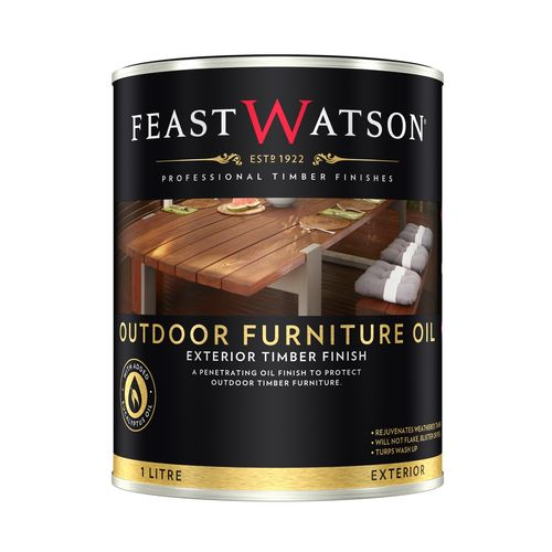Feast Watson 500ml Clear Outdoor Furniture Oil