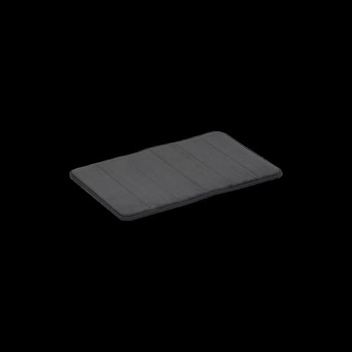 Softouch 60 x 40cm Charcoal Memory Foam Monarch Bathmat