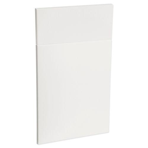 Kaboodle 450mm Modern Vinyl 1 Door / 1 Drawer Panel - Gloss White