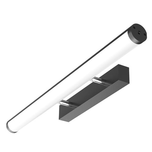 Lutec 10W LED Tri-Colour Black Finish Kerry Bathroom Light