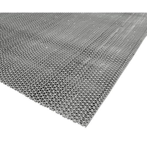Matpro 90 x 200cm Grey DIY Pre Packs Rubber Safeguard Z Matting