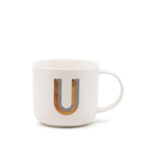 Alpha Mug - 400ml - Letter U