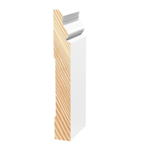 Porta 138 x 18mm 2.7m Primed Colonial Pine Finger Jointed Moulding
