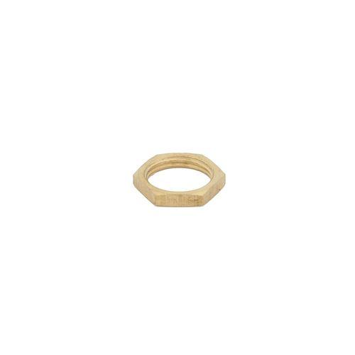 Kinetic 20mm Brass Threaded Back Nut