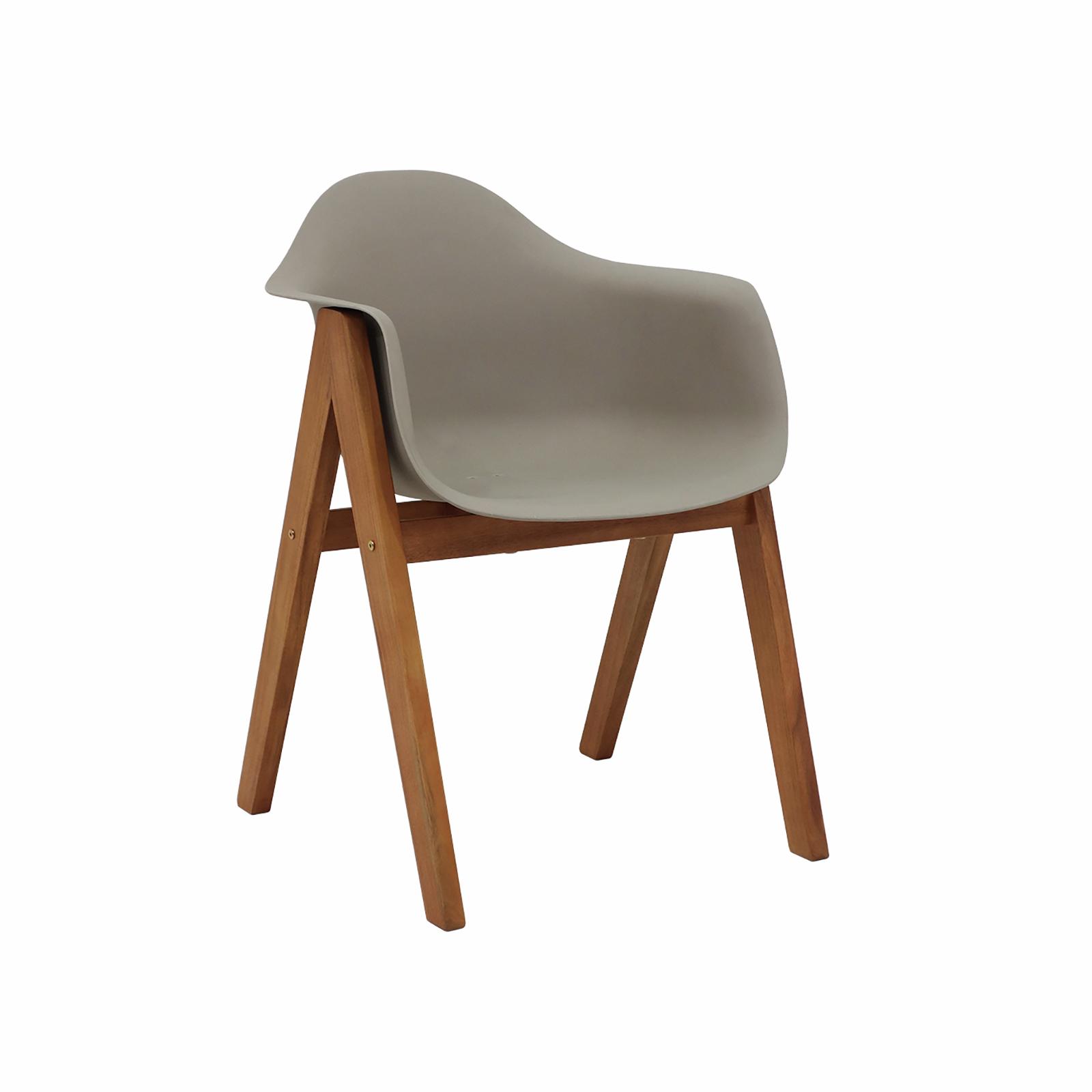 Hartman Delta Timber Dining Chair - Biscuit