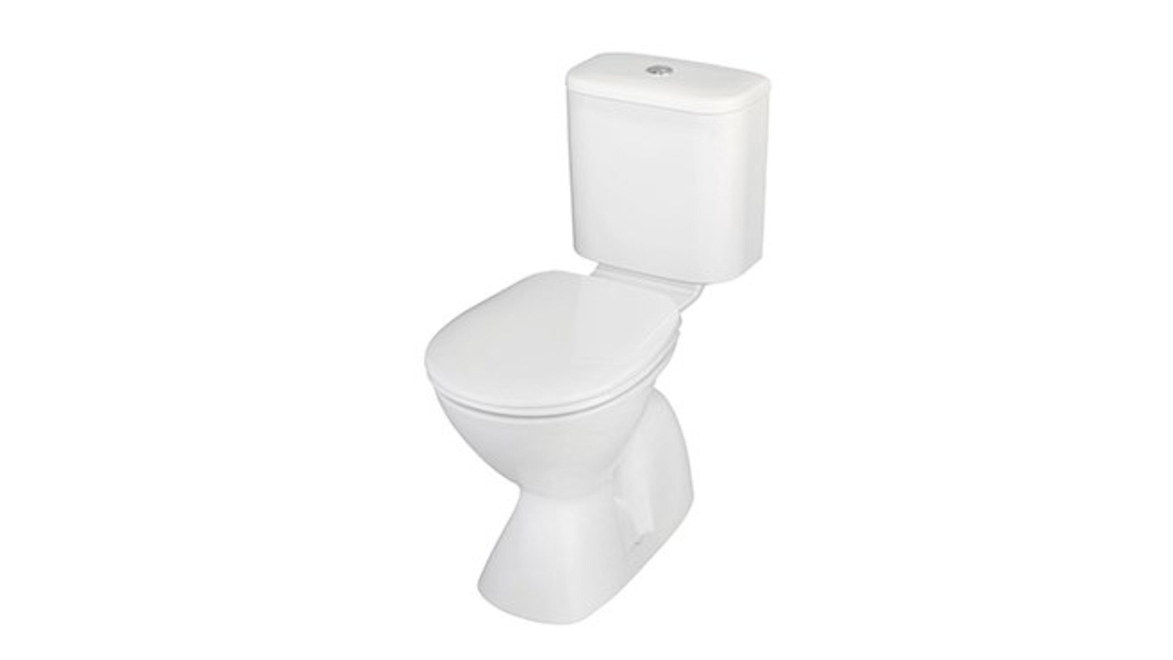 Stand alone toilet.