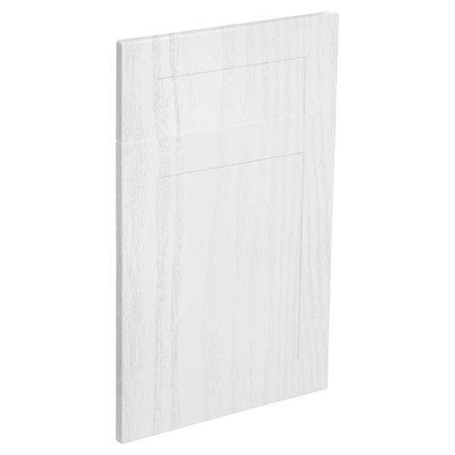 Kaboodle 450mm Alpine Vinyl 1 Door / 1 Drawer Panel - Provincial White