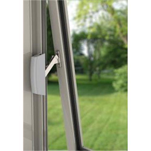 Yale Guardian Securistay for Aluminium Windows 2pk Silver Pearl