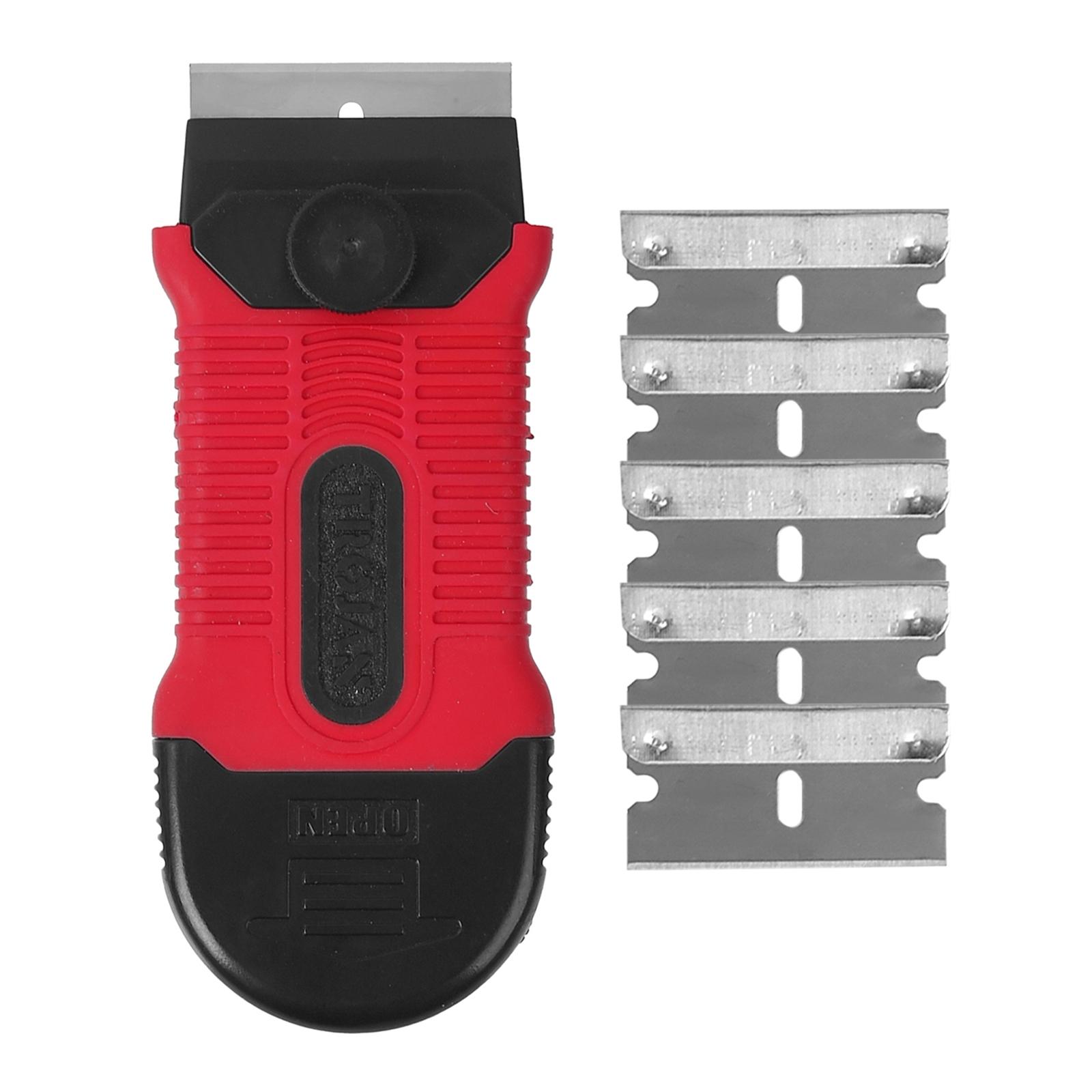 Trojan Safety Scraper With 5 Blades