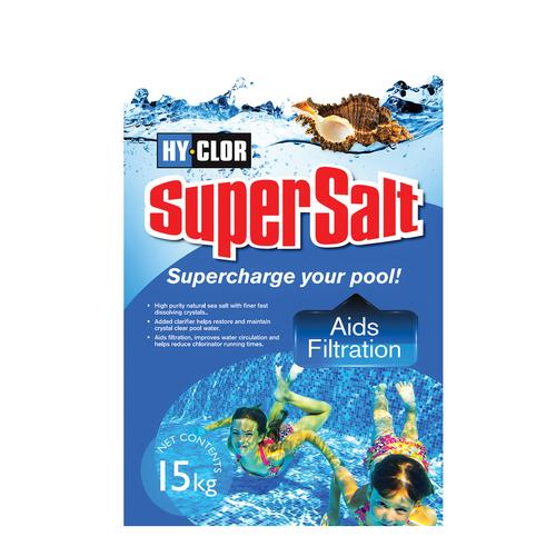 Hy-Clor 15kg Pool Chemical Super Salt