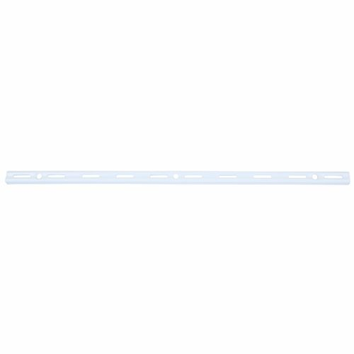 Flexi Storage 1000mm White Single Slot Upright