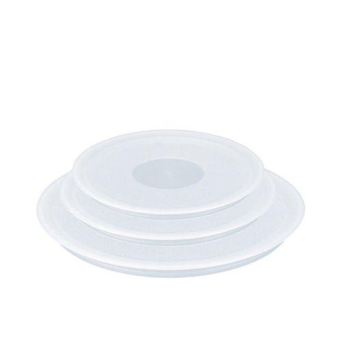 Tefal Ingenio Plastic Lids Set of 3 Clear