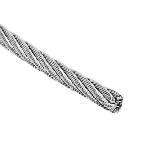 Pinnacle 4mm 316 Marine Grade Stainless Steel Wire Rope - Per Metre