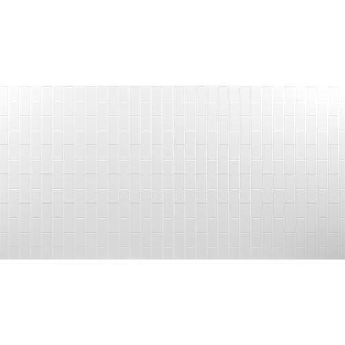 Seratone 2400 x 1200 x 4.5mm Polar White Aqua Subway Tile