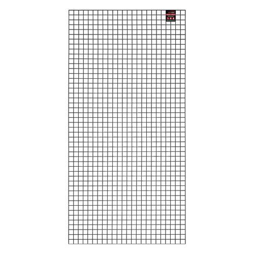 RapidMesh 600 x 1200mm 25 x 25mm Black Wire Mesh Panel