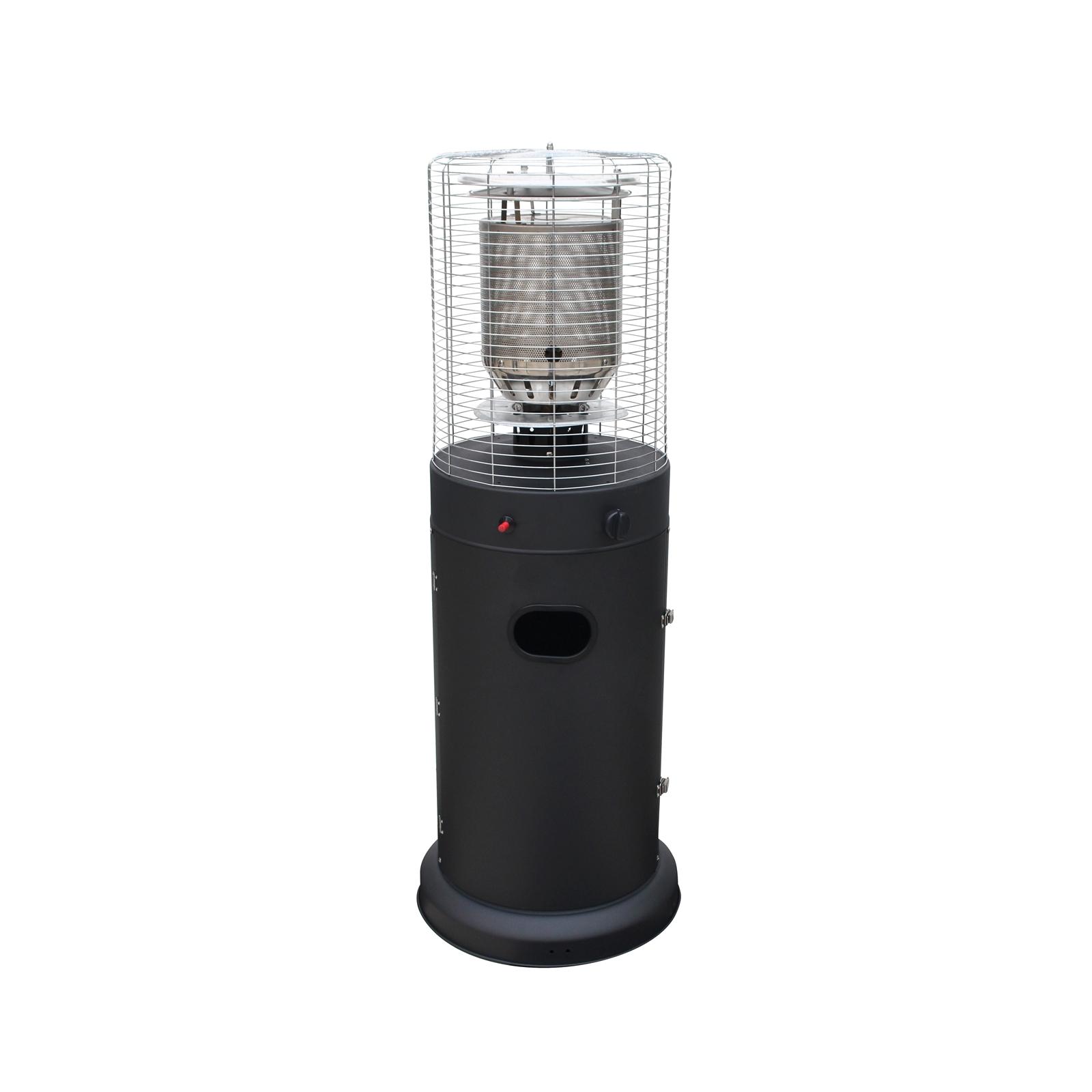 Fiammetta Outdoor Area Gas Heater - Matte Black