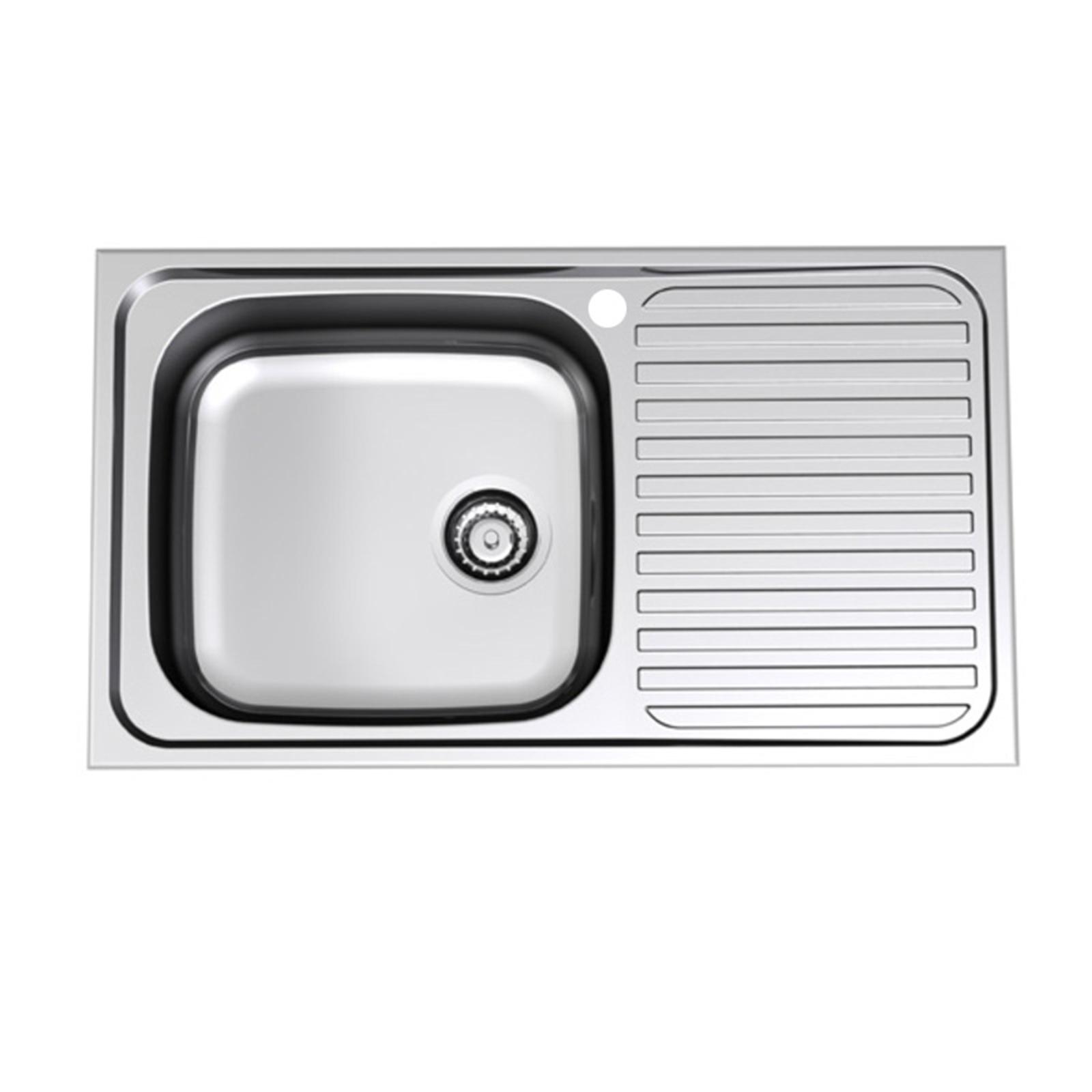 Stylus 1 Tap Hole Left Hand Single End Bowl Radiant Sink